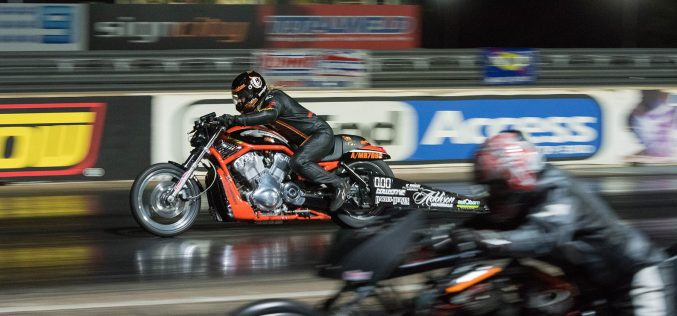 ANDRA: Rookie Racer Takes Maiden Win on Harley V-Rod Destroyer