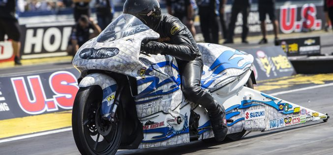 NHRA: Jerry Savoie Thrives on Calming Feeling Vegas Provides