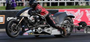 NHRA: Top Fuel Harley at 2019 U.S. Nationals – Tharpe and Andras Win!