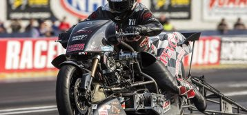 Tii Tharpe secures second Mickey Thompson Tires Top Fuel Harley title