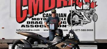 Barkley takes the win and is the quickest bike at CMDRA in Medicine Hat