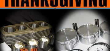 MTC: Thanksgiving Special – Piston Kits and Block Kits