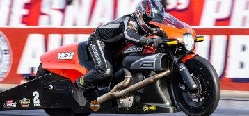 Man Cup Invites NHRA Pro Stock Motorcycle Racers to July Event