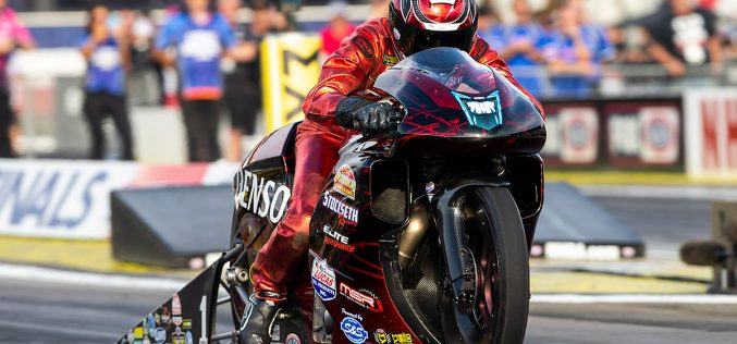 NHRA: Pro Stock Motorcycle Finals at Auto Club Nationals