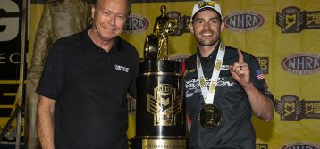 NHRA: Andrew Hines wraps up record-tying sixth Pro Stock Motorcycle championship