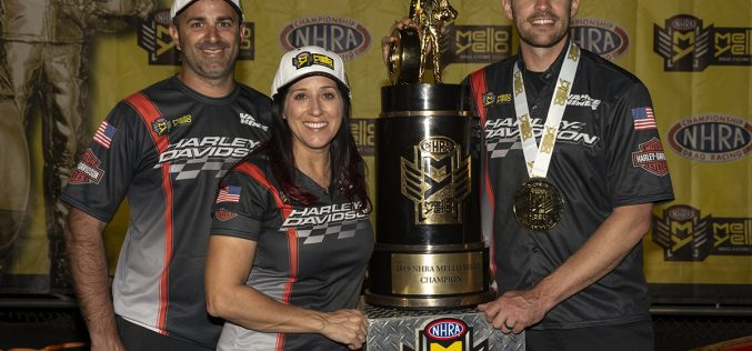 Angelle Sampey confirms return to Vance & Hines Harley-Davidson team