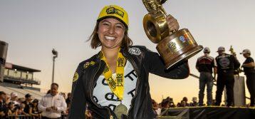 NHRA: Jianna Salinas scores first win in incredible Pro Stock Motorcycle season finale