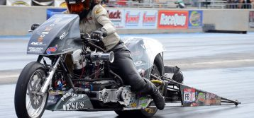 Janette Thornley Becomes NHRA Top Fuel Harley License Rider