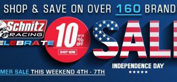 Schnitz Racing: Independence Sale