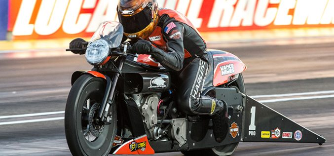 NHRA : Q&A with Andrew Hines Heading into zMax
