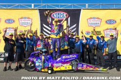 NHRA : Race Results from Sonoma – Tonglet Wins!