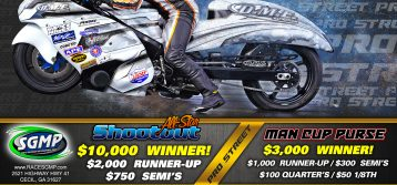 DME Racing All-Star Shootout Flyer