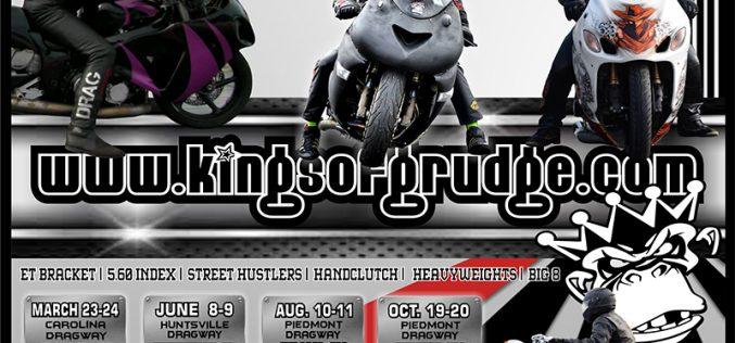 Kings of Grudge: 2018 Motorcycle Drag Racing Schedule