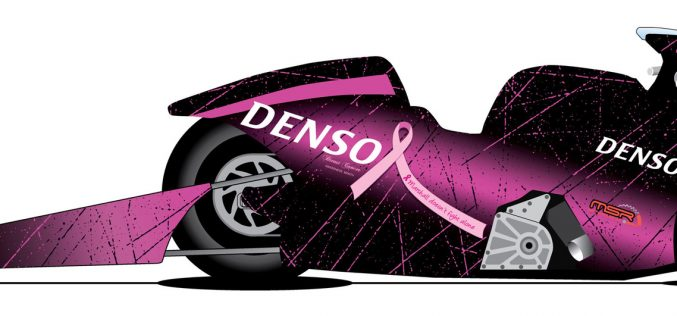 DENSO and NHRA Pro Stock Motorcycle Champion Matt Smith Go Pink
