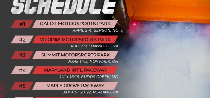 PDRA: 2020 Drag Racing Schedule