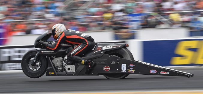 NHRA: Pro Stock Motorcycle Reigning Champ Andrew Hines Focused on Gatornationals