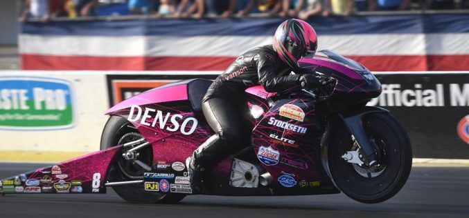 NHRA: Angie Smith leaning on new clutch for more success in Atlanta