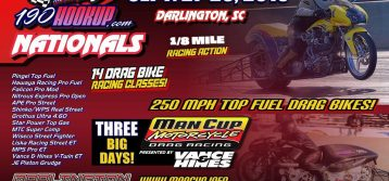 Man Cup: 190hookup.com Nationals will be an 1/8-mile Event