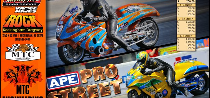 Man Cup: Pro Street Wide up for MTC Nationals