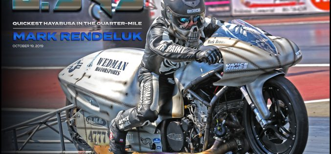 Mark Rendeluk has the Quickest Hayabusa in the Quarter-Mile