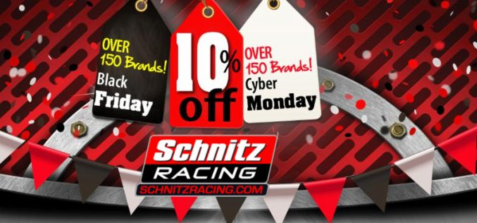 Schnitz Racing 2020 Cyber Sale is Here