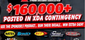 $160,000+ POSTED IN 2020 XDA CONTINGENCY PROGRAM