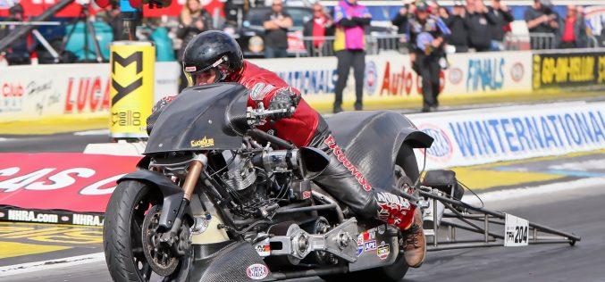 NHRA Top Fuel Harley: Lucas Oil NHRA Winternationals