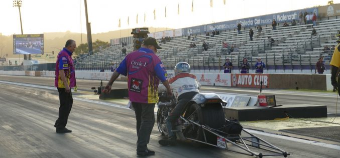 Dream Chaser Racin' Has Sights Set On Top Fuel Harley Victory In Phoenix