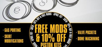 MTC: Piston Kit Special 10% OFF