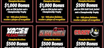 XDA: Points Championship Awards Policy