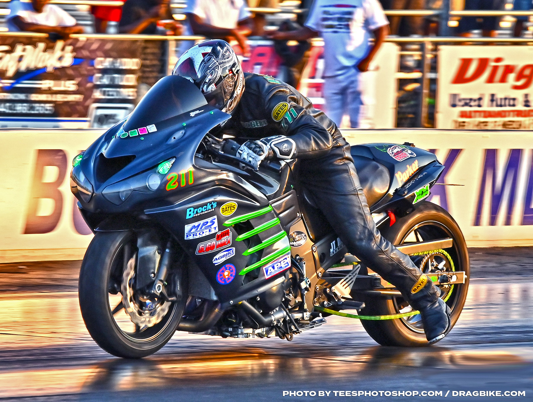 Robert Parker - XDA Motorcycle Drag Racers Finally Unleash for Battle