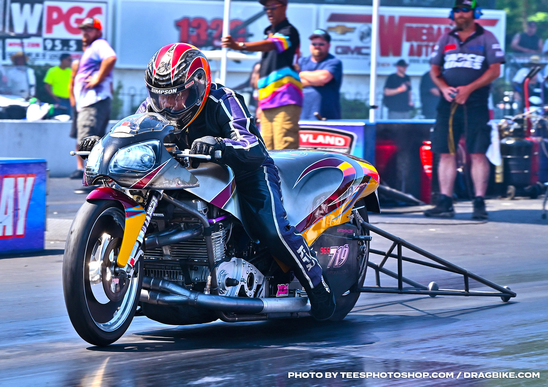 Frank Christian - XDA Motorcycle Drag Racers Finally Unleash for Battle