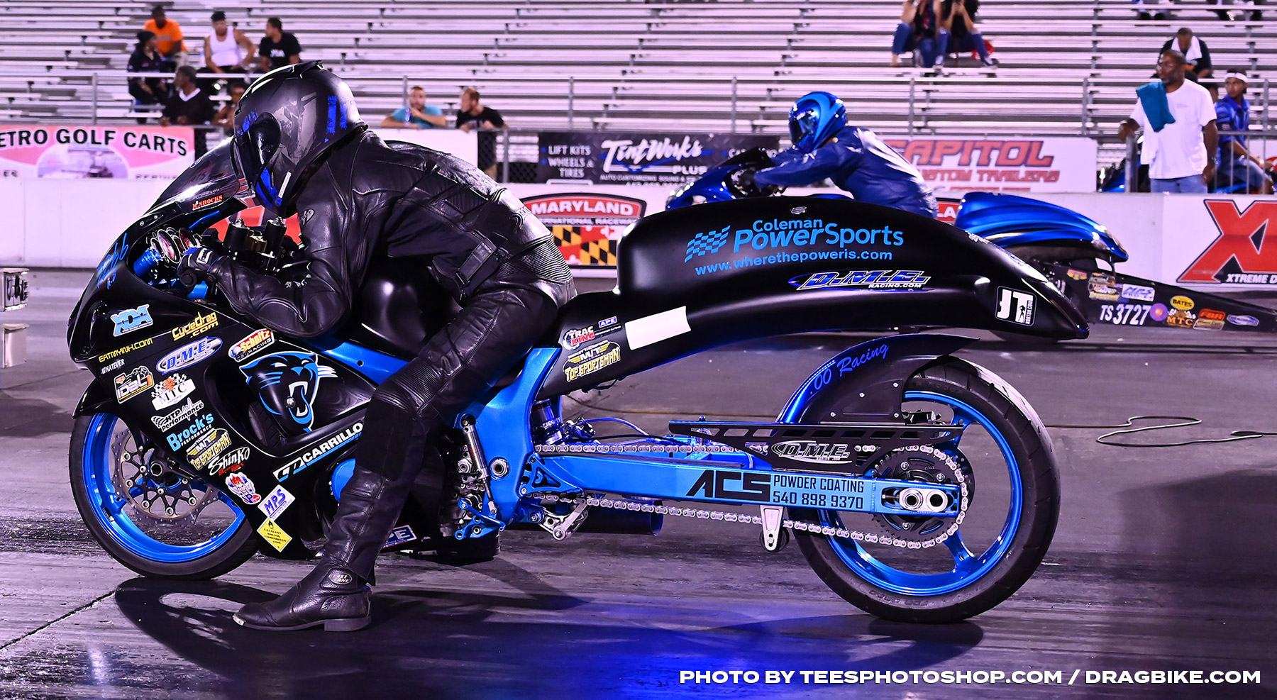 Derrick Milbourne - XDA Motorcycle Drag Racers Finally Unleash for Battle