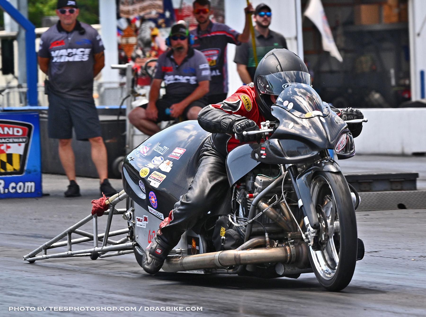 Rob Garcia - 2020 XDA Motorcycle Drag Racing