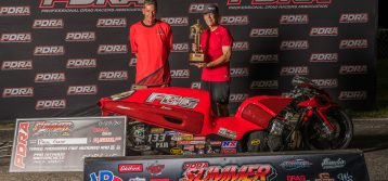 PDRA: Summer Shootout Pro Nitrous Motorcycle Results