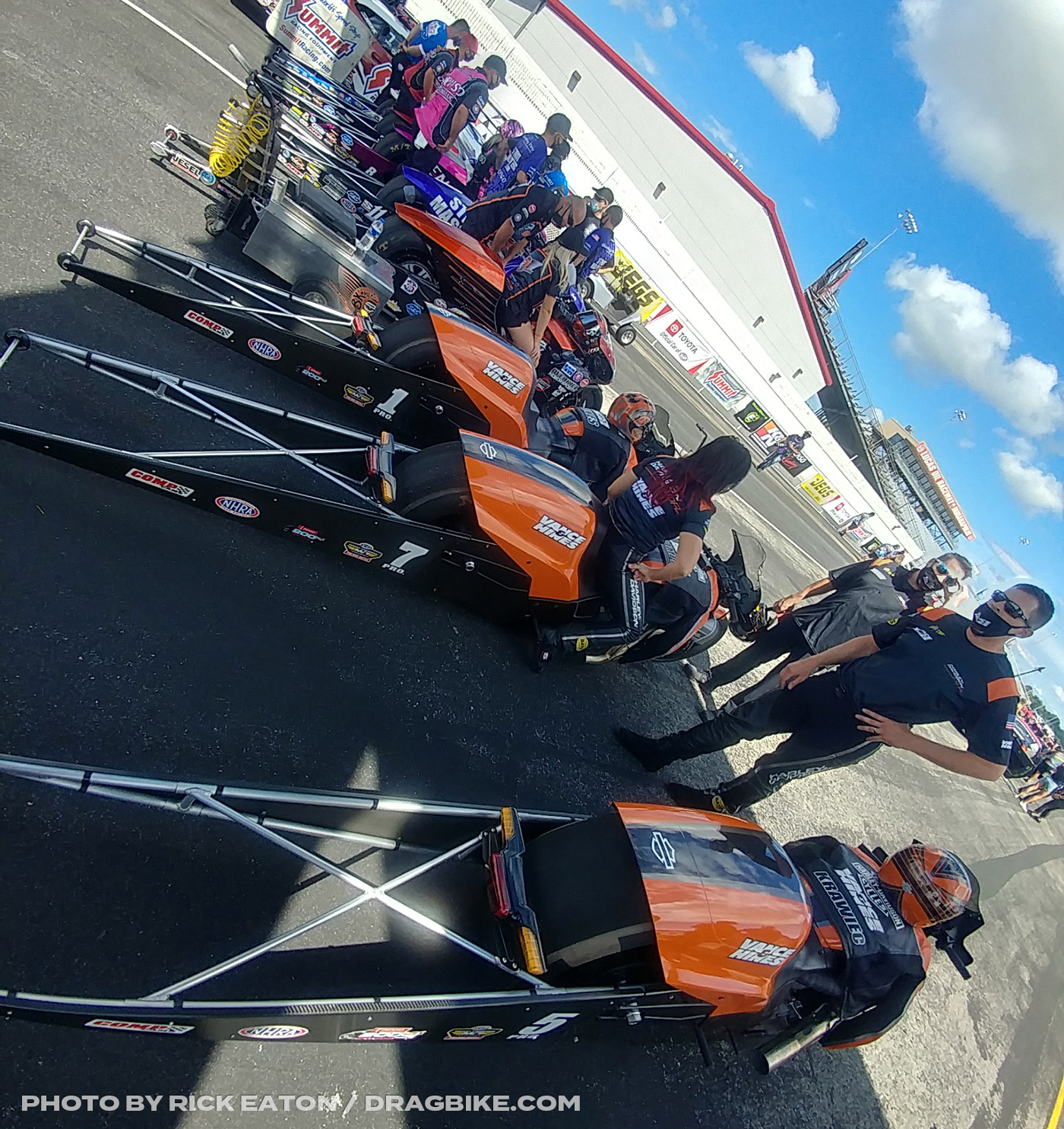 2020 NHRA Pro Stock Motorcycles Indy