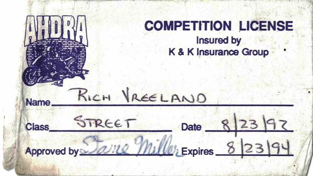 2020 Rich Vreeland Racing