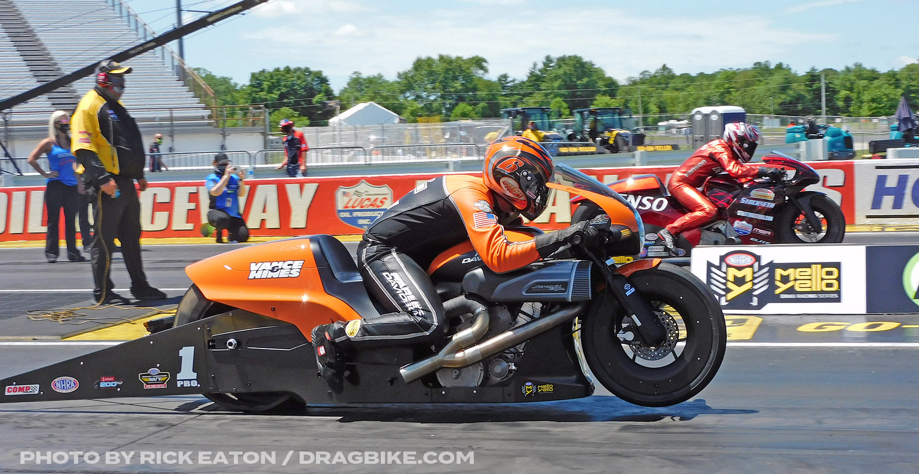 Andrew hines - 2020 NHRA Pro Stock Motorcycles Indy