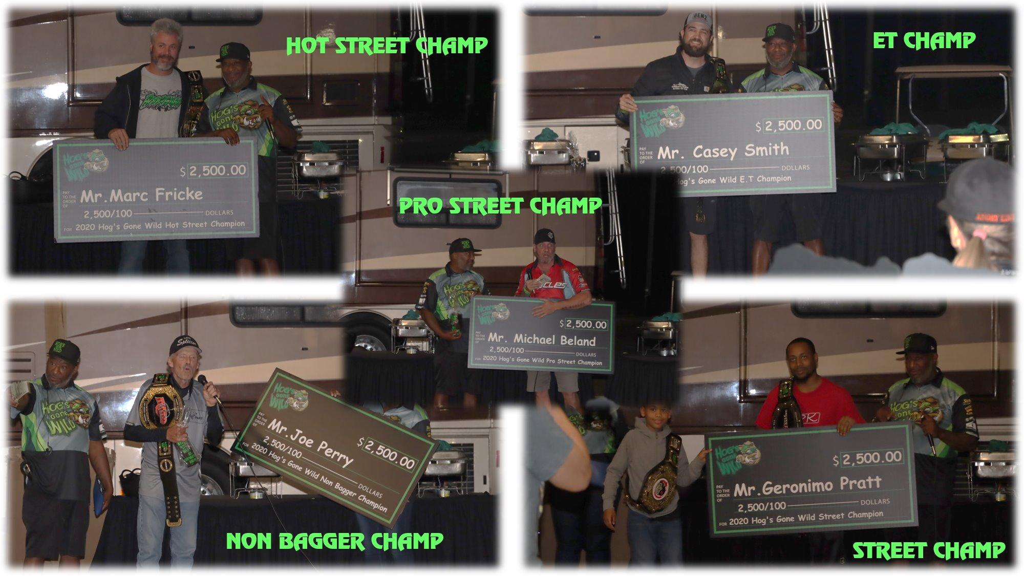 Hogs Gone Wild 2020 Champions