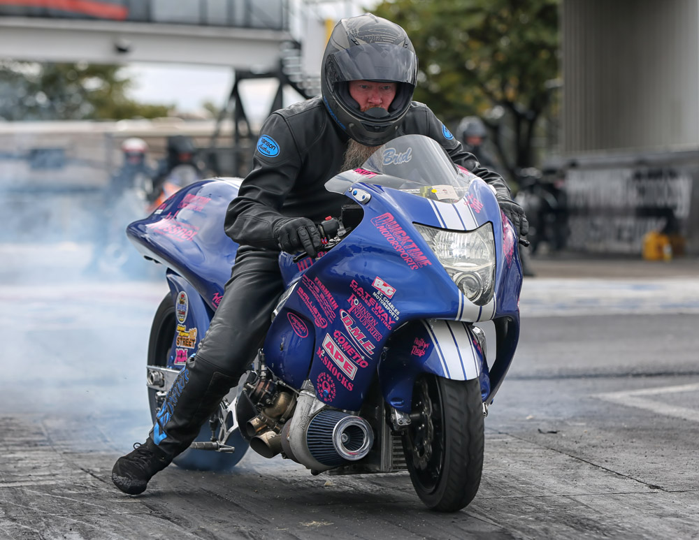 NHDRO Drag Racing - Brad Christian by Tim Hailey EatMyInk