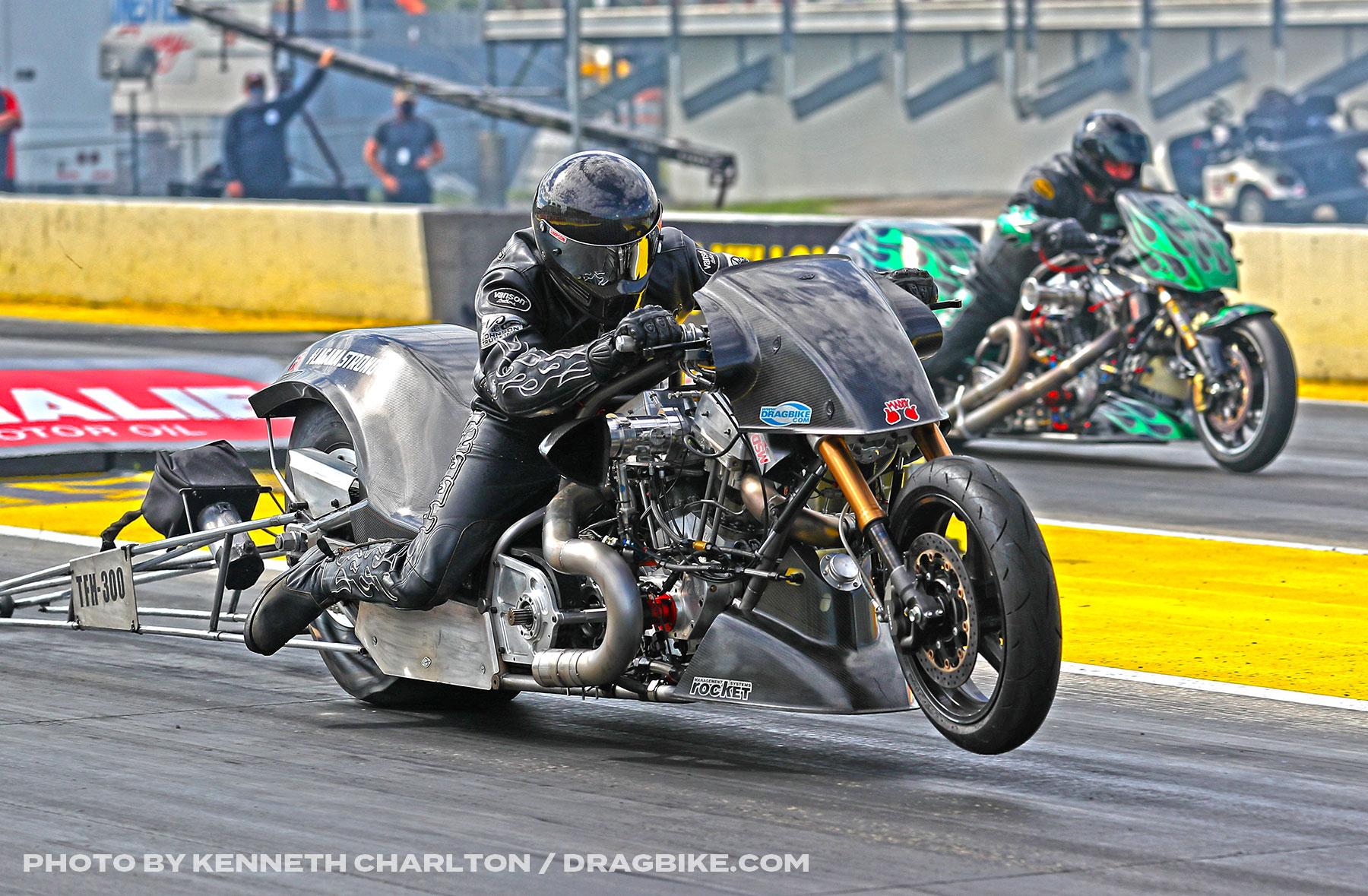 NHRA Top Fuel Harley - Ryan Peery