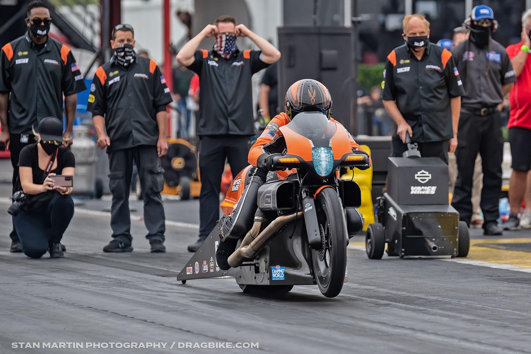 Eddie Krawiec - NHRA Pro Stock Motorcycle