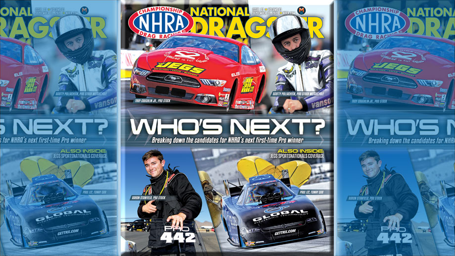 NHRA National Dragster Issue 17