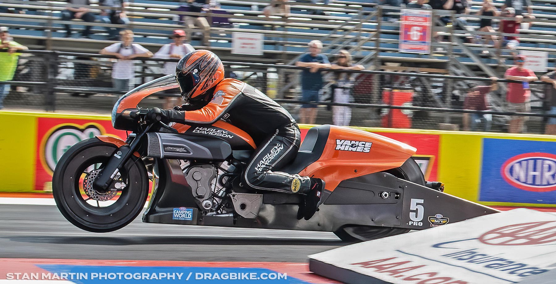 Eddie Krawiec NHRA Pro Stock Motorcycle