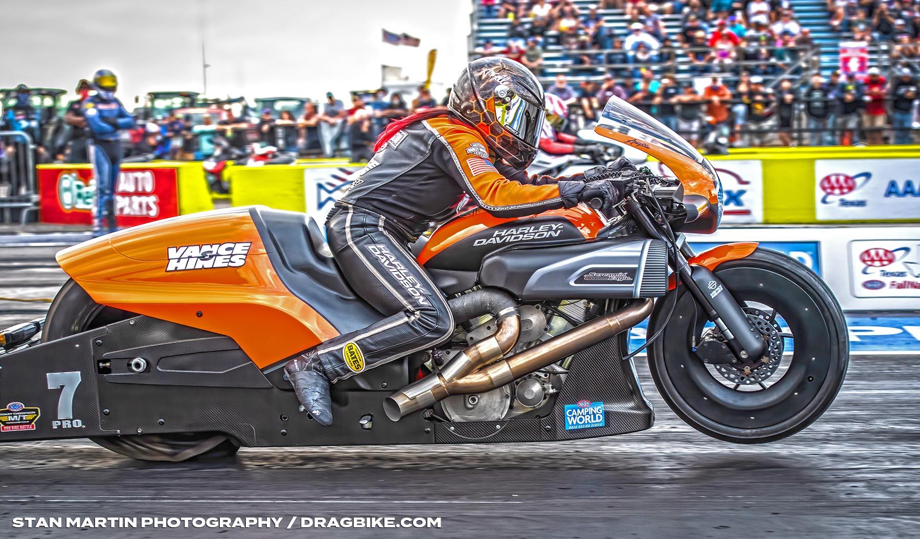 Angelle Sampey - NHRA Pro Stock Motorcycle