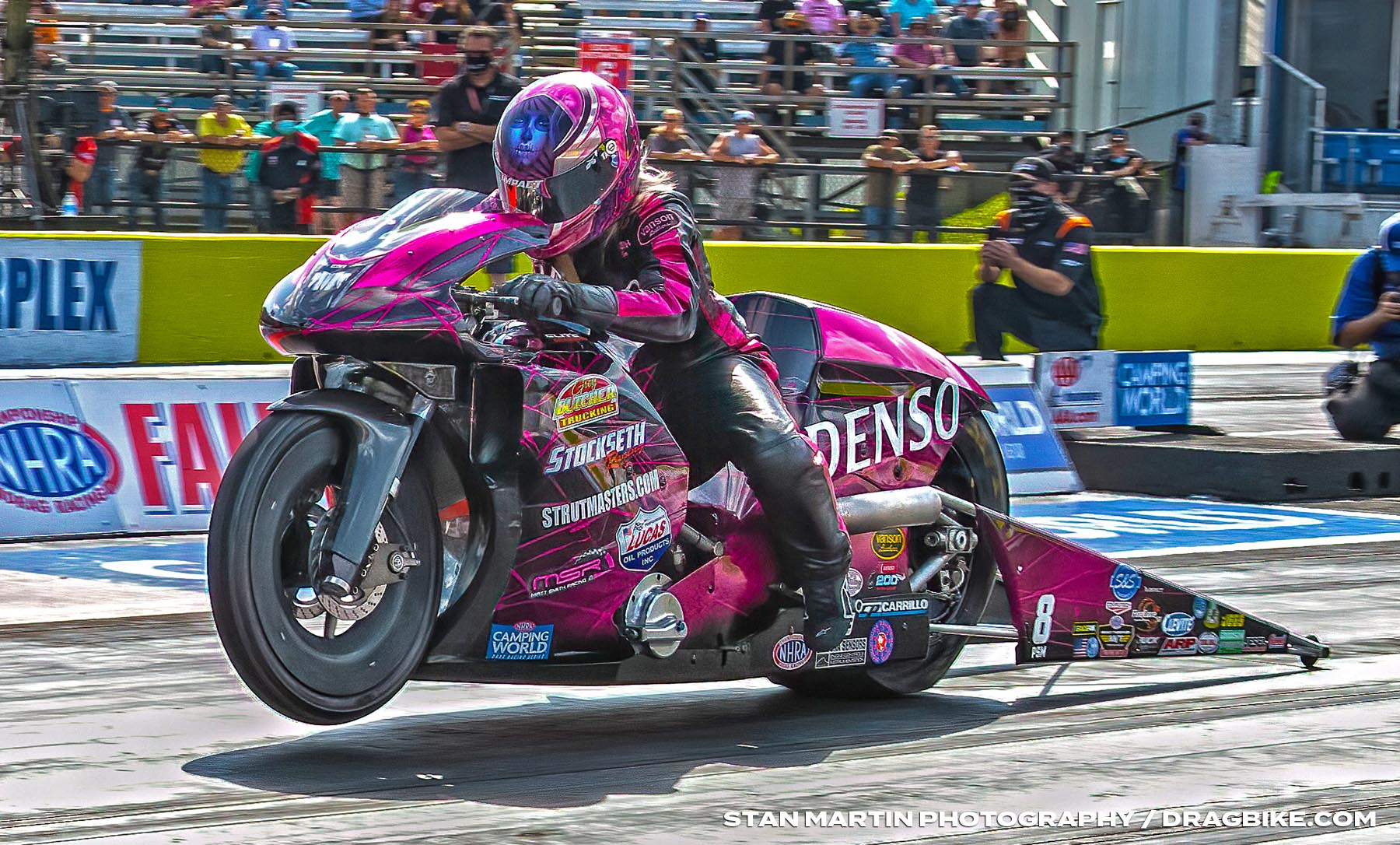 Angie Smith - NHRA Pro Stock Motorcycle