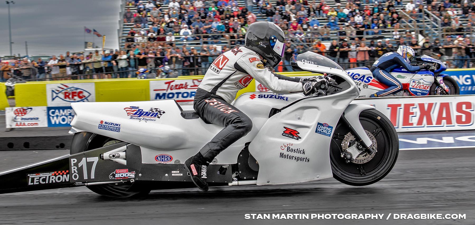Chris Bostick - NHRA Pro Stock Motorcycle