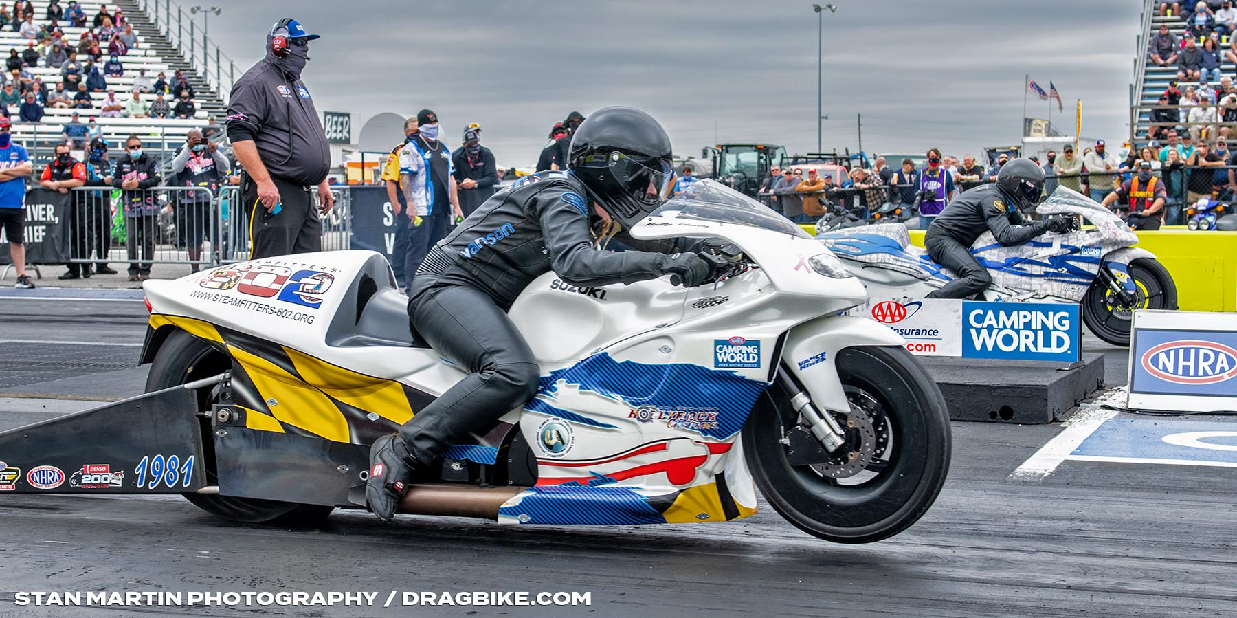 Kelly Clontz - NHRA Pro Stock Motorcycle
