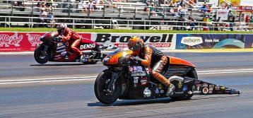 NHRA: Ryan Oehler WINS Pro Stock Motorcycle at Lucas Oil Raceway