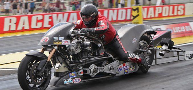 NHRA: Top Fuel Harley Results – Dodge Indy Nationals